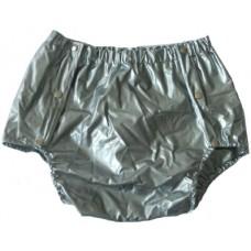 Silver PVC Broekje